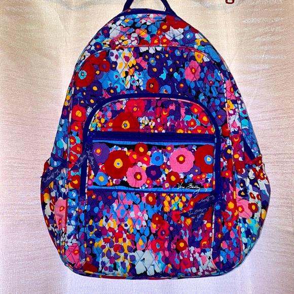 Quilted Vera Bradley Backpack